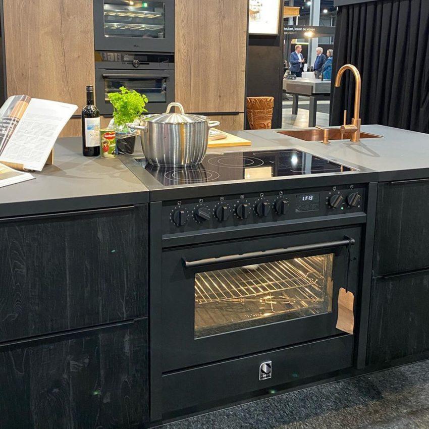 תנור בישול ENFASI all black