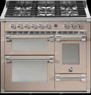 תנור בישול ואפיה משולב Steel דגם Ascot 100 / 3 Ovens