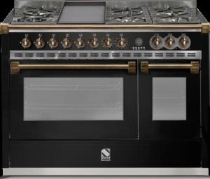 תנור בישול ואפיה משולב Steel דגם Ascot 120