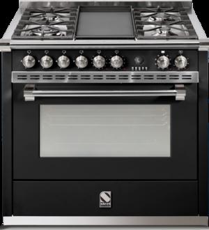Ascot-90 תנור בישול משולב