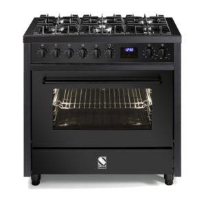 תנור בישול ואפיה משולב Steel דגם Enfasi 90 All Black