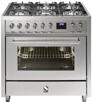 תנור בישול ואפיה משולב Steel דגם Enfasi 90