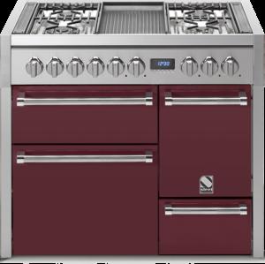 תנור בישול ואפיה משולב Steel דגם Genesi 100 / 3 Ovens Solid Door