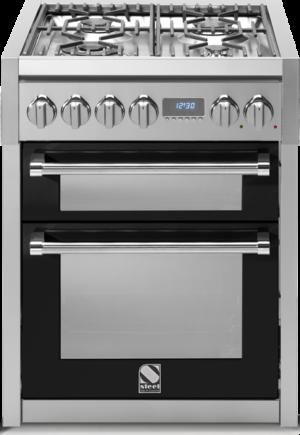 תנור בישול ואפיה משולב Steel דגם Genesi 70 תא כפול