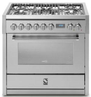 תנור בישול ואפיה משולב Steel דגם Genesi 90