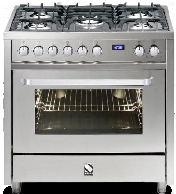 תנור בישול משולב STEEL VISTA נירוסטה